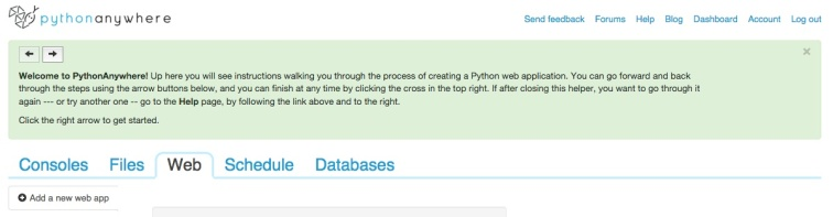 PythonAnywhere Tutorial